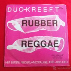 Discos de vinilo: DUO KREEFT - RUBBER REGGAE . Lote 47107109