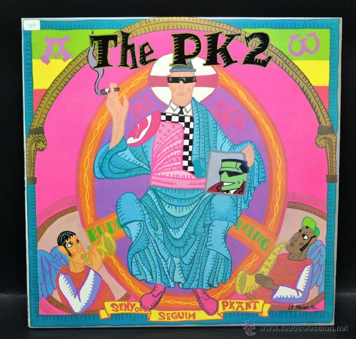 VINILO - THE PK2 - SENYOR SEGUIM PKANT (Música - Discos de Vinilo - Maxi Singles - Reggae - Ska)