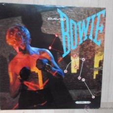 Discos de vinilo: DAVID BOWIE LETS DANCE EMI ESPAÑA 1983. Lote 47110854