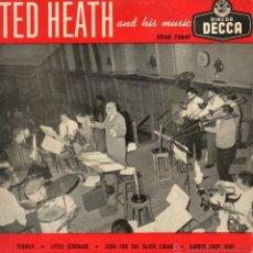 Discos de vinilo: TED HEATH, EP, TEQUILA + 3, AÑO 1958. Lote 47114638