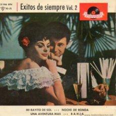 Discos de vinilo: ALBERTO DE LUQUE Y LOS AMIGOS, EP, MI RAYITO DE SOL + 3, AÑO 1963. Lote 47114955