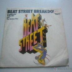 Dischi in vinile: BEAT STREET BREAKDOWN-GRANDMASTER MELLE MEL FURIOUS FIVE-ATLANTIC 1984-SINGLE C37. Lote 47118432