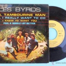 Discos de vinilo: DISCO LES BYRDS MR. TAMBOURINE MAN. Lote 47118757