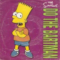 Discos de vinilo: VENDO SINGLE DE THE SIMPSONS, (DO THE BARTMAN), AÑO 1991.. Lote 47125456