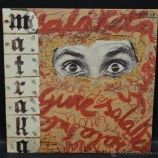 Discos de vinilo: VINILO MINI-LP - MATRAKA - GURE SALAKETA. Lote 47132844