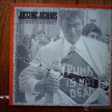 Disques de vinyle: JUGGLING JUGULARS - MACHINE GUN ETIQUETTE - DISCO DE 10 PULGADAS. Lote 47135784