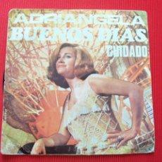 Discos de vinilo: ADRIANGELA - BUENOS DÍAS / CUIDADO. Lote 47138062