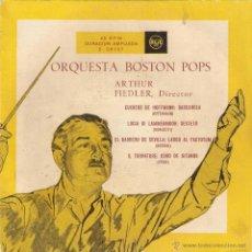 Discos de vinilo: VENDO SINGLE DE LA ORQUESTA BOSTON POPS.. Lote 47138483