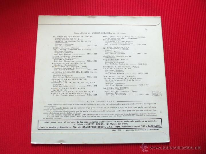 Discos de vinilo: ANDRÉS SEGOVIA - NORTEÑA // FANDANGUILLO // SUITE CASTELLANA - Foto 2 - 47139280