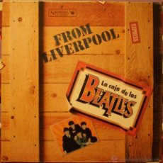 Discos de vinilo: THE BEATLES - FROM LIVERPOOL - BOX. Lote 47139403