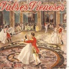 Discos de vinilo: VENDO SINGLE DE VALSES DE STRAUSS (VALSES VIENESES), EL VALS DEL EMPERADOR.. Lote 47142392