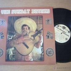 Discos de vinilo: THE SUNDAY DRUNKS LP DEAD BEAT RECORDS MINT BELLRAYS RADIO BIRDMAN RICHMOND SLUTS DMZ LYRES. Lote 47142556