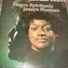 Discos de vinilo: JESSYE NORMAN - NEGRO SPIRITUALS . Lote 47148240
