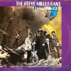 Discos de vinilo: THE STEVE MILLER BAND - LIVING IN THE USA (FORMERLY ENTITLED SAILOR). Lote 47148844