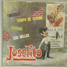 Discos de vinilo: JOSELITO EP SELLO RCA VICTOR EDITADO EN MEXICO. Lote 47153415