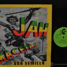 Discos de vinilo: VINILO REGGAE SKA - MINI-LP - JAH MACETAS - UNA SEMILLA. Lote 47154331
