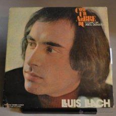 Discos de vinilo: LLUIS LLACH. COM UN ARBRE NU. MOVIEPLAY 1972. LITERACOMIC.. Lote 47156965