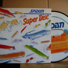 Discos de vinilo: SPIDAN - SUPER DISC - PICTURE. Lote 47158708