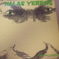 Discos de vinilo: MALAS YERBAS-PROMESAS Y PALABRAS. Lote 47169310