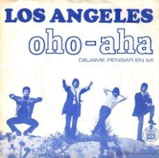 """Discos de vinilo: LOS ANGELES - SINGLE VINILO 7"""" - EDITADO EN HOLANDA - OHO AHA + DEJAME PENSAR EN MI - NEGRAM. Lote 47169885"""