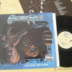Discos de vinilo: MELIAH RAGE. LP. SOLITARY SOLITUDE. 1990. Lote 47170106