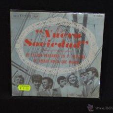 Discos de vinilo: NUEVA SOCIEDAD - HE ESTADO PENSANDO EN TI, PEQUEÑA +1 - SINGLE. Lote 47171444