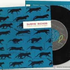 Discos de vinilo: SURFIN' BICHOS SINGLE CUANTO MAS DURO VENGAN.1993 . Lote 47178480