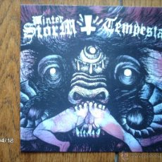 Discos de vinilo: WINTER STORM + TEMPESTA . Lote 47178524