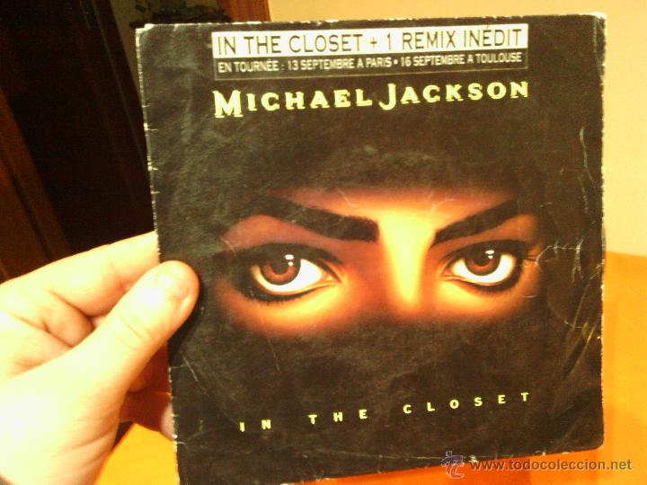 MICHAEL JACKSON IN THE CLOSET (Música - Discos - Singles Vinilo - Funk, Soul y Black Music)