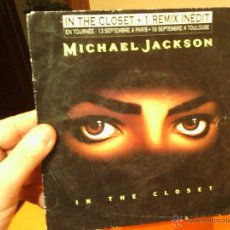 Discos de vinilo: MICHAEL JACKSON IN THE CLOSET. Lote 47179495