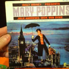 Discos de vinilo: MARY POPPINS -JULIE ANDREWS / DICK VAN DYKE. Lote 47179692