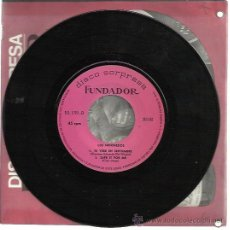 Discos de vinilo: LOS INDONESIOS EP FUNDADOR 1968 TE VERE EN SEPTIEMBRE/ SAFE IT FOR ME +2 GARAGE BEAT MOD . Lote 47183750