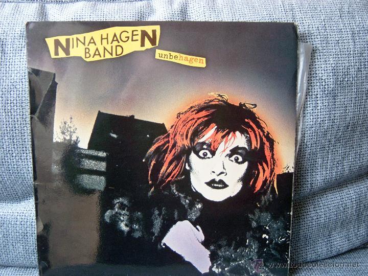 NINA HAGEN - UNBEHAGEN - CBS 1980 CON ENCARTE (Música - Discos - LP Vinilo - Punk - Hard Core)