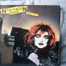 Discos de vinilo: NINA HAGEN - UNBEHAGEN - CBS 1980 CON ENCARTE. Lote 47185095