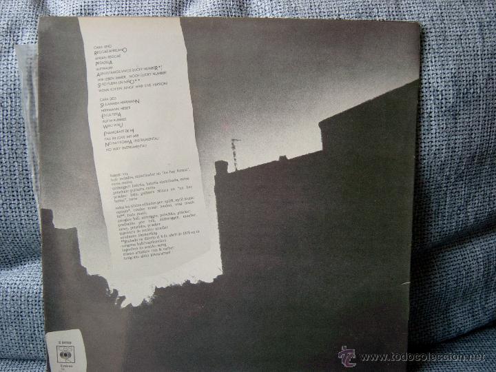 Discos de vinilo: NINA HAGEN - UNBEHAGEN - CBS 1980 CON ENCARTE - Foto 2 - 47185095