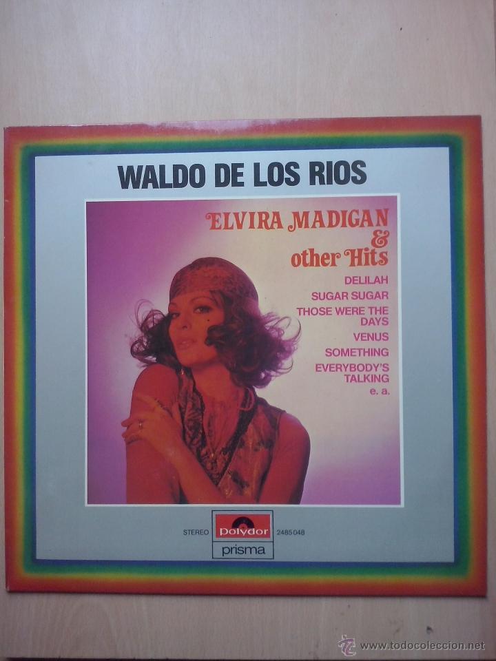 WALDO DE LOS RIOS - ELVIRA MADIGAN & OTHER HITS - SHOCKING BLUE, VENUS - POLYDOR AUSTRIA (Música - Discos - LP Vinilo - Solistas Españoles de los 50 y 60)