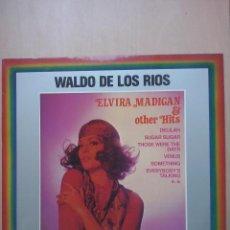 Discos de vinilo: WALDO DE LOS RIOS - ELVIRA MADIGAN & OTHER HITS - SHOCKING BLUE, VENUS - POLYDOR AUSTRIA. Lote 47188315
