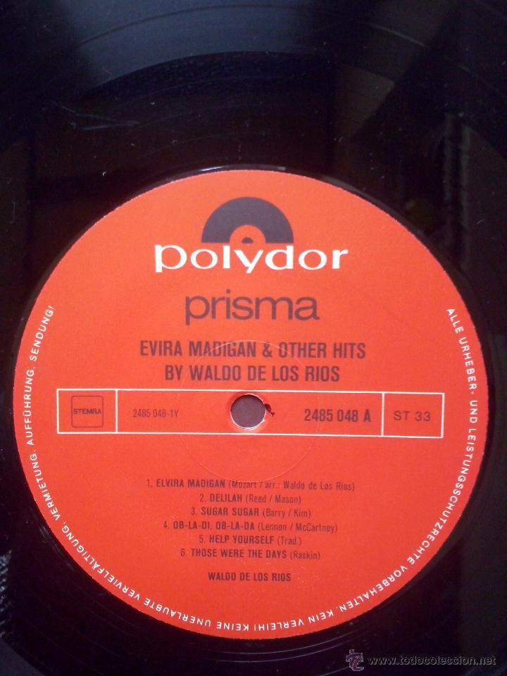 Discos de vinilo: waldo de los rios - elvira madigan & other hits - shocking blue, venus - polydor austria - Foto 3 - 47188315