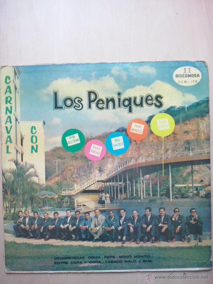 CARNAVAL CON LOS PENIQUES - JORGE BELTRAN, NILA VALDES, FELIPE PIRELA...- DISCOMODA VENEZUELA (Música - Discos - LP Vinilo - Grupos y Solistas de latinoamérica)