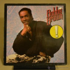 Discos de vinilo: BOBBY BROWN. KINF OF STAGE. MCA RECORDS 1986. LITERACOMIC.. Lote 47188752