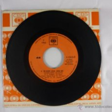 Discos de vinilo: RAY CONNIFF AND THE SINGERS -EN ALGUN LUGAR AMOR MIO/VERANO EN SUECIA -DISCO VINILO SP 7´ COSTA RICA. Lote 47190983