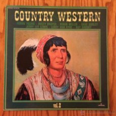 Discos de vinilo: COUNTRY AND WESTERN VOL. 2 FARON YOUNG RUSTY DRAPER ROGER MILLER - VINILO LP. Lote 47194008