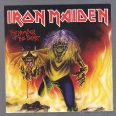 Discos de vinilo: IRON MAIDEN - THE NUMBER OF THE BEAST (SINGLE VINILO, NUEVO Y PRECINTADO). Lote 113161663