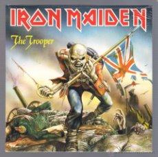 Discos de vinilo: IRON MAIDEN - THE TROOPER (SINGLE VINILO, NUEVO Y PRECINTADO). Lote 98112052
