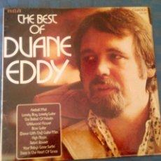 Discos de vinilo: THE BEST OF DUANE EDDY. Lote 47204066