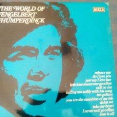 Discos de vinilo: THE WORLD OF ENGELBERT HUMPERDINCK. Lote 47204137