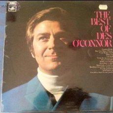 Discos de vinilo: THE BEST OF DES OCONOR. Lote 47204328