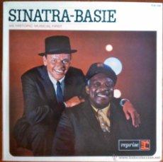 Discos de vinilo: SINATRA / BASIE - AN HISTORIC MUSICAL FIRST - LP ESPAÑOL PORTADA ABIERTA. Lote 47209406