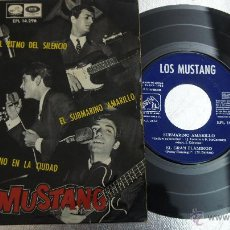 Discos de vinilo: LOS MUSTANG - SUBMARINO AMARILLO (THE BEATLES). Lote 47209519