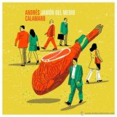 Discos de vinilo: CALAMARO - DOBLE LP EN DIRECTO - VINILO - JAMON DEL MEDIO - A ESTRENAR. Lote 47212888